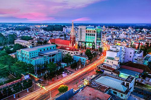 Long Khánh trên con đường lên thành phố trực thuộc tỉnh Đồng Nai